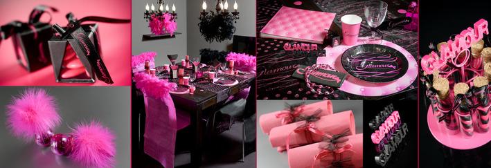 d coration table diner glamour. Black Bedroom Furniture Sets. Home Design Ideas