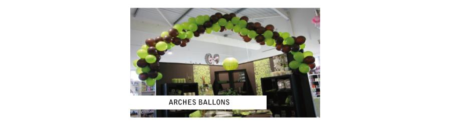 Arches ballons