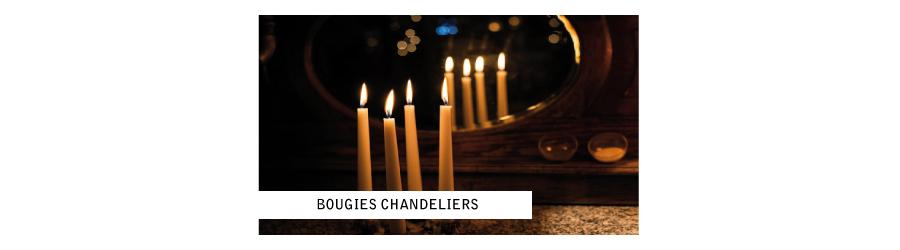 Bougies chandelier