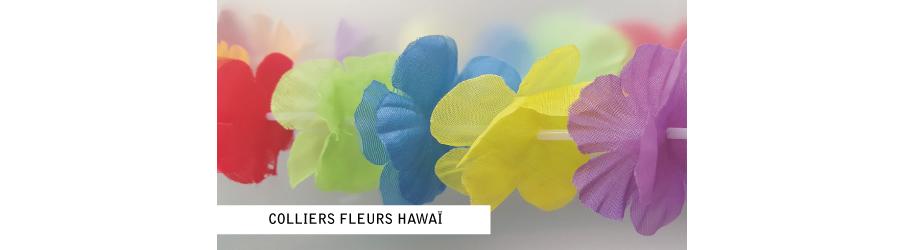 Collier fleurs Hawai