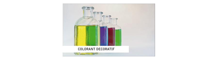 Colorant décoratifs