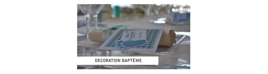 Décoration bapteme