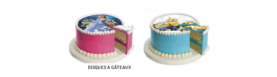 Disques à gâteau
