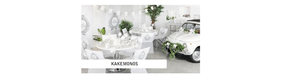Kakemono personnalisé mariage