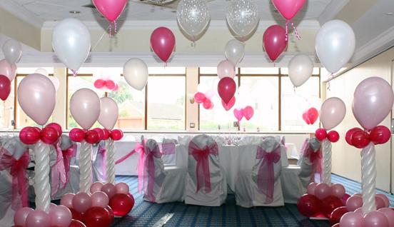 Decoration ballon, ballon mariage, kit ballon bapteme bouteille helium