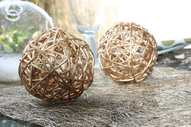 d coration en rotin pas cher boules en rotin pour votre. Black Bedroom Furniture Sets. Home Design Ideas