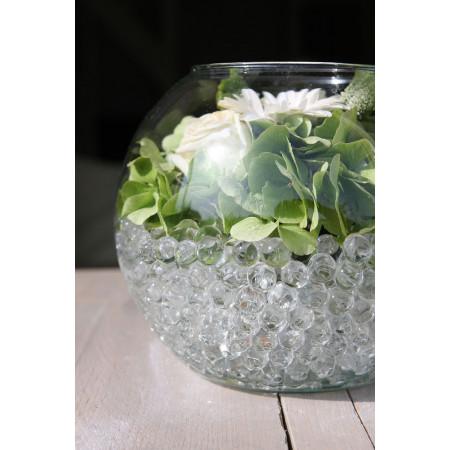 *6 sachet bille de gel*perle d/'eau transparente* décoration vase mariage baptême