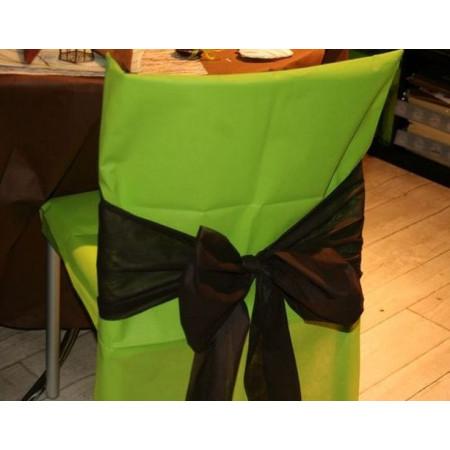 Housses de chaises - x10 - anis