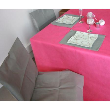 Housses de chaises - x10 - gris