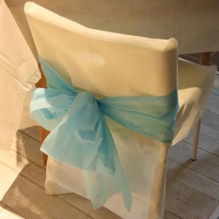 Housses de chaises - x10 - ivoire