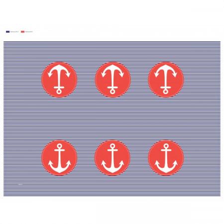 Nappe plastique marin