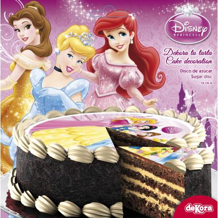 disque à gâteau princesses 1