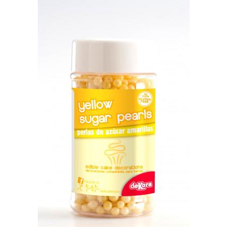 perles en sucre jaune 1