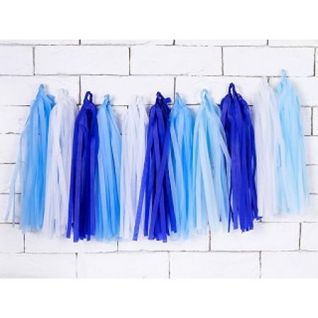 Guirlande Tassel Bleu