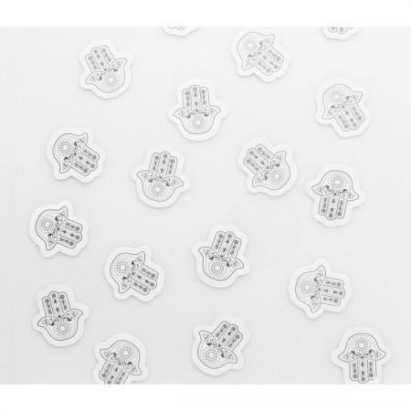 Confettis Oriental argent x100