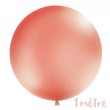 Ballon géant de Baudruche 1 mètre Rose Gold