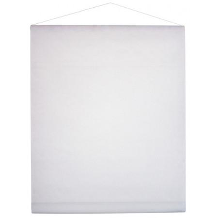 Tenture de salle intissé blanche 70 cm