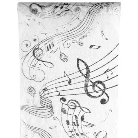 Chemin de table musique à prix discount - Chemin de table original
