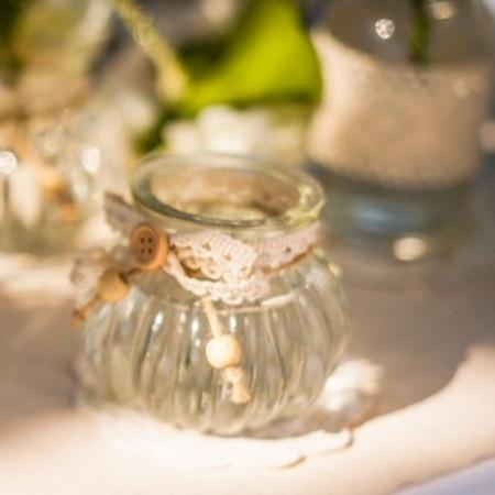 Vase en verre à l'ancienne - 1