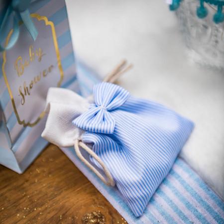 sachet-dragees-raye-bleu-blanc