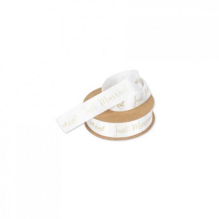 ruban-satin-blanc-just-married