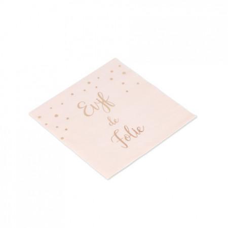 serviette-evjf-papier-rose-gold