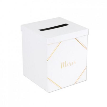 urne-merci-blanche-or