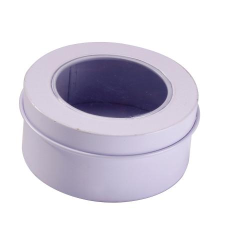 Boîte ronde en PVC - 6