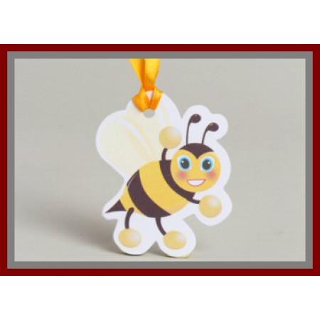 étiquette abeille