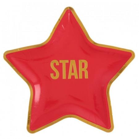 Assiette cinéma STAR
