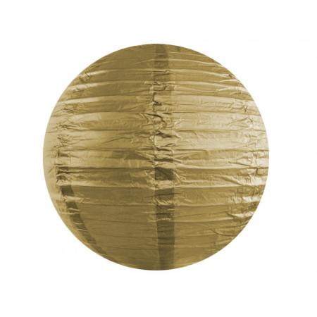 boule papier or 35cm