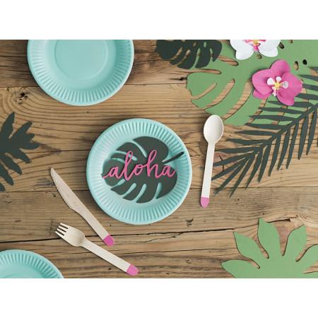 Set de table feuille tropicale