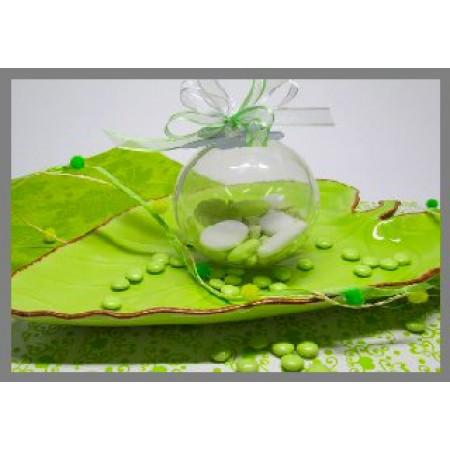 Boule plexi transparentes 21 cm