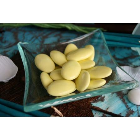 Dragées chocolat jaune