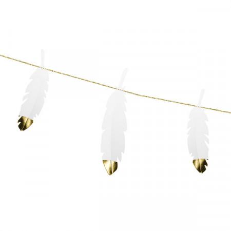 guirlande-plume-blanche-or
