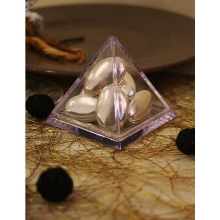 Contenant à dragées Pyramide pour votre reception