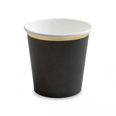 Gobelets à café noir