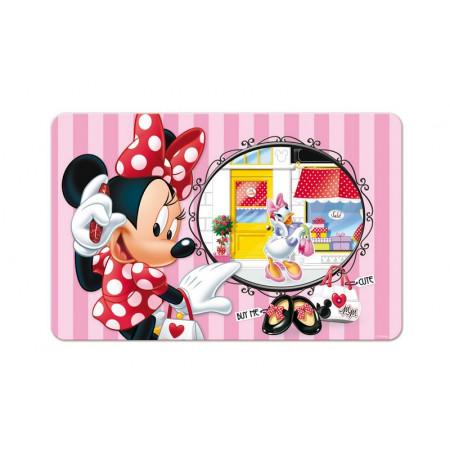 Set de table effet 3D Minnie et Daisy