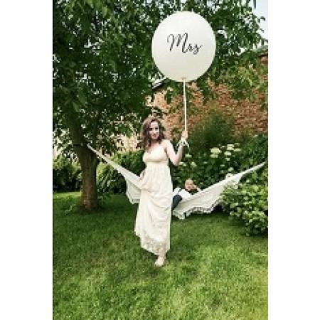 """ballon géant """"mrs"""""""