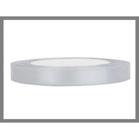ruban satin 6 mm gris clair