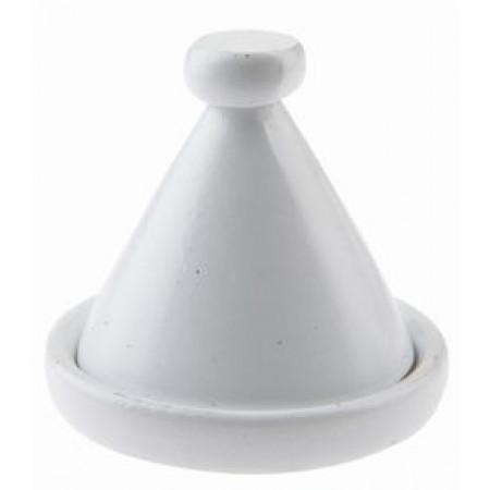 2 tajines blanche pour décoration de table