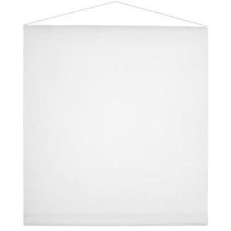 Tenture mariage blanche 80cmx12m