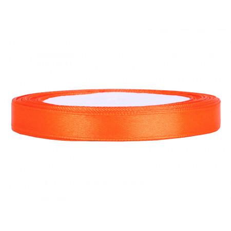 ruban satin 6 mm orange