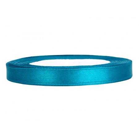ruban satin 6 mm turquoise