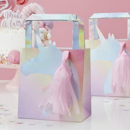 sacs Cadeau Licorne Iridescent