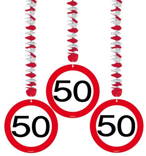 3 suspensions d 39 anniversaire 50 ans for Decoration 50 ans