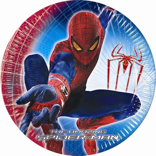 8 assiettes The Amazing Spiderman