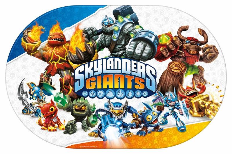 Set de table Skylanders Giants