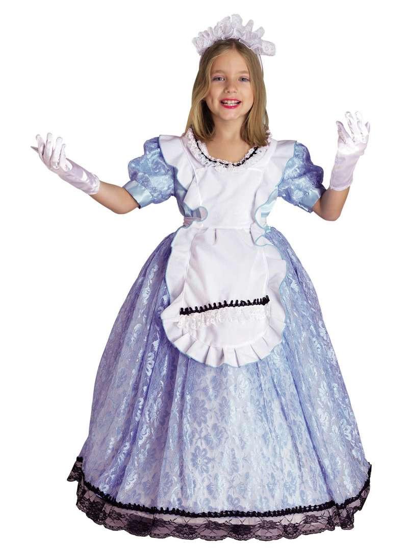Déguisement fille Alice au Pays des Merveilles- 8 ans