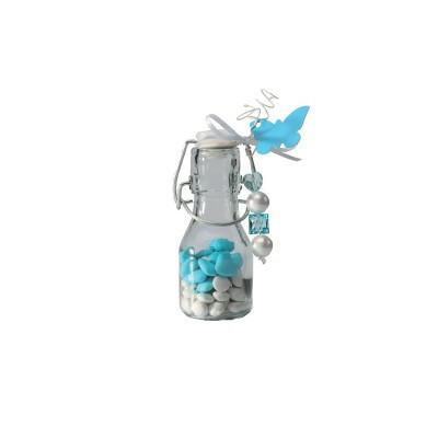 Bouteille en verre avec fermeture plastique
